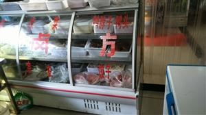 2米的卤菜展示柜八成新,在店里用起的,如果有需要可以来店里看,地址:龙潭电信局旁边三妹石磨菜豆腐洋芋...