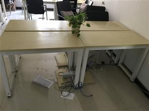 9.9成新办公桌椅低价出售,限时秒杀,成套出售