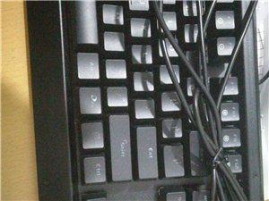 达尔优机械键盘红轴ek812,九成新