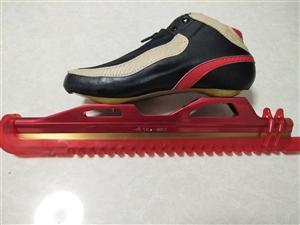 飞航冰鞋, 沈阳飞航冰雪运动器材有限公司原厂生产, 直接从厂家买的, 大道定位冰鞋,42号, ...