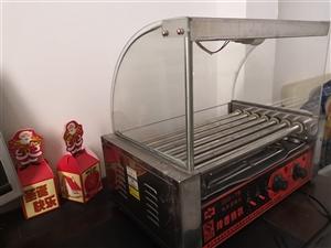 豪华商用双电炸炉(新),商用全自动电烤肠机(新的),因门面房面积小放不下,特优惠转让,有意者请联系我...