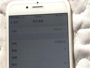 国行苹果6,32G,9成新。