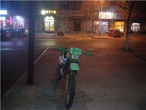 125宗申越野摩托车