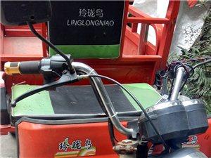 玲珑鸟电动三轮车五成新两组电瓶适合拉东西或做小生意