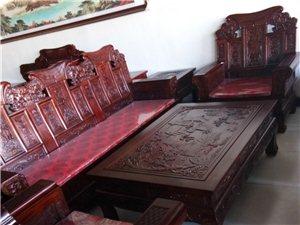 老榆木沙发六件套批发价格18000