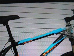 桑普山地自行车,全新。年底顶帐,顶过来的。原价2000多元,现价600元便宜处理。