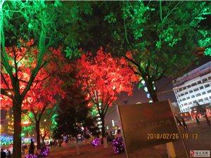 喀左县城夜景真的很美