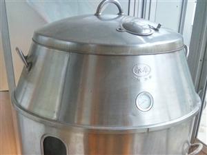 九成新304双层不锈钢液化气烧鸭炉,注意是烧液化气,温度控制精准,最好的品牌广东三水永丰,绝对不是淘...