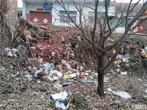 居民的合法耕地让生活垃圾侵占