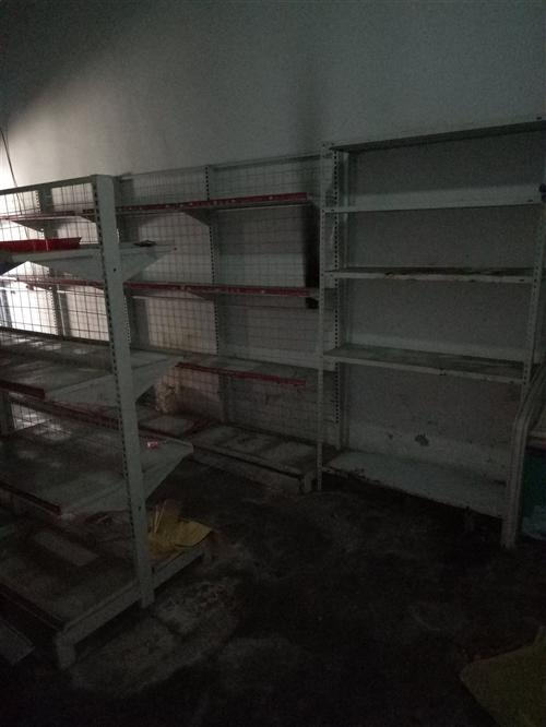 出售超市货架和保鲜柜,都是新的用了一年不到!