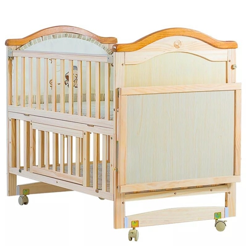 9.9成新嬰兒床,干凈整潔,200元轉手。贈蚊帳。