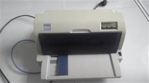 爱普生635针式打印机,七成新,闲置转让,18825161271