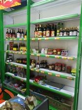 因店铺转让现有九成新超市货架出售