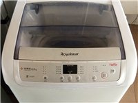 八成新荣事达6公斤全自动洗衣机,有三个月保修卡!