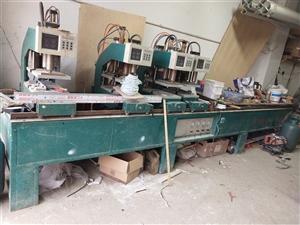 因本人另有发展现有一套塑钢焊机出售8成新!有意者致电