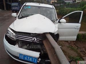 今天合江县南滩大河坝长安车交通事故