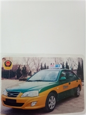 广饶宇通出租车现代伊兰特