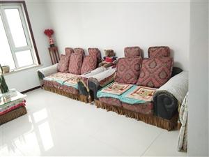 布艺休闲沙发弹性好,4件大全套,2米一个,3米一个,4米一个,布艺茶几一个,原价3900,现价260...