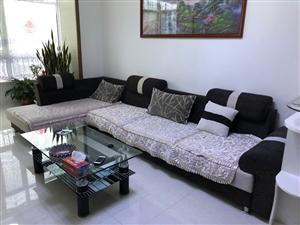 沙发和茶几出售,价钱可议。