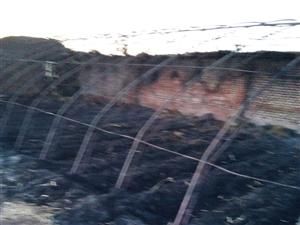 3月22日半夜一场大火把我家150米蔬菜大棚烧成灰烬,一棚的咸瓜马上就可以卖了,现在全没了,本来就家
