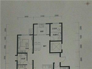 君耀现代城3室2厅2卫68万元