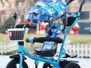 儿童三轮车手推车脚踏车旋转座椅1-3-6宝宝防侧翻童车自行车     宝宝的车子买重了,98%的新度...