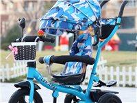 儿童三轮车手推车脚踏车旋转座椅1-3-6宝宝防侧翻童车自行车    同城送货上门!