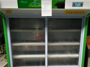 出售展示柜一台,2017年11月份购买,用了5个月,保鲜冷藏都可以,温度可自行随意调节,使用方便!