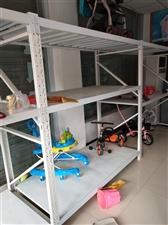 童车店关闭处理全新超市货架,童车货架,只用了半年,价格便宜!