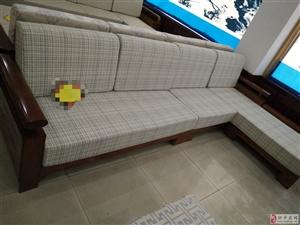 实木沙发处理了