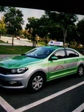 急售大众绿色出租车