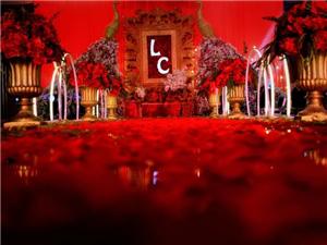 安岳堇色婚禮館承接婚禮、婚紗租賃