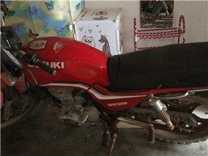 铃木王摩托车