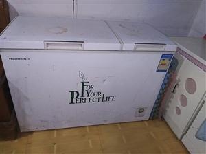 海信容声冰柜,310容积,双开门,冷冻加冷藏,一级功效,买时花了一千四五,买好闲置一年,