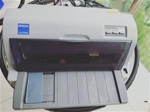 爱普生针式打印机LQ-630K,8成新,适合打印快递单,也可以打印文档。送扫描枪一把,墨盒两个。