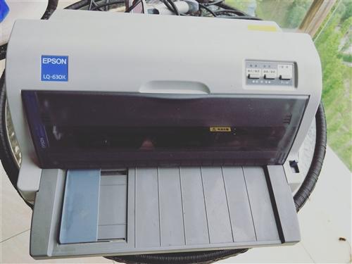 愛普生針式打印機LQ-630K,8成新,適合打印快遞單,也可以打印文檔。送掃描槍一把,墨盒兩個。