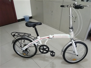 永久折叠变速自行车,车辆20,仅试骑了一次,买的小了,所以转让
