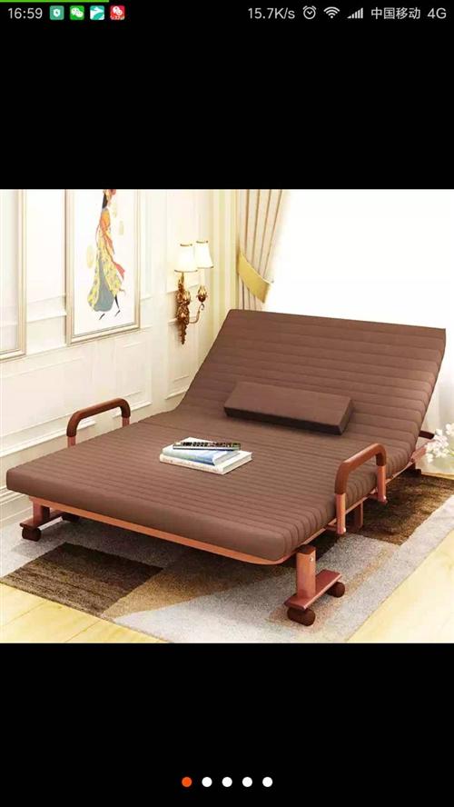全新折疊床,550元出售,買時候850元,一米二寬,朝陽鎮15843560900
