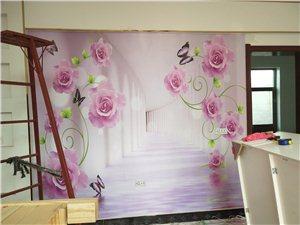 承接室内装修刮瓷吊顶壁纸壁画PVC集成墙板