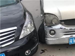 无奈的车祸