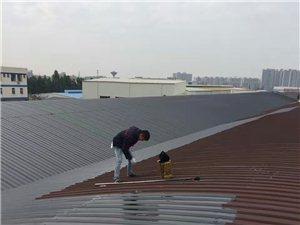 鹤山周边锌铁瓦厂房防水补漏,瓦面防腐施工