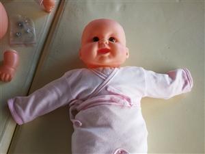 仿真婴儿,可做培训操作使用,带衣服,一共9个,还有四个可以下水的全硅胶仿真婴儿,有意者直接电话联系可...