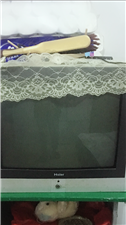 出售二手海尔牌电视机老式的21英寸