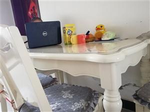 简欧风格餐桌,六人座
