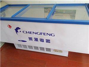 ������低价出售冷冻展示柜,长2m*宽80cm*高90cm ;  容积450L ;三推门,新压缩机,有...