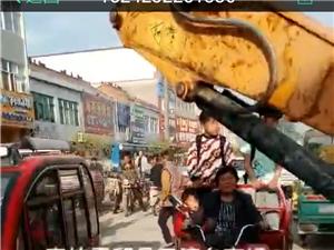 霍邱县三流乡菜市场被三流村书记侵占