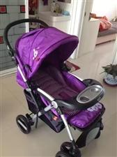 二手婴儿推车,图片是刚买的时候照的,现在车子九成新,喜欢的可以电话联系,