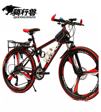 [转卖]骑行兽山地自行车21/24/27速双碟刹成人26… 有意者与我联系18778043756 微...