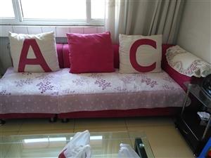 处理沙发1,2,3,共200元,赠电视柜!联系电话:13723914303         非诚勿扰...