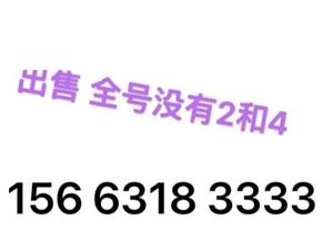 156 6318 3333 156 6330 7777 无抵消 随意过户 联系电话 13104...